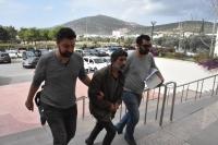 Gözaltına alınan perdeci tutuklandı, operasyon anı polis kamerasına yansıdı