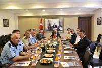 Bodrum'da Asayiş Toplantısı:  Misafirler kendini evinde hissedecek