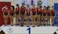 Artistik Cimnastik Muğla İl Birinciliği'nde Bodrum'a bir ödül