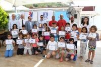 Yelken öğrencilerine sertifikaları verildi
