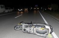 Park halindeki kamyona çarpan motosikletin sürücüsü öldü