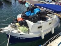 Adalar, koylar ve sahiller temizlendi