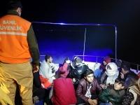 Bodrum'da 16 kaçak ve 1 organizatör yakalandı