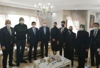 İçişleri Bakanı Süleyman Soylu,  taziye ziyaretinde bulundu