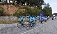 Bisikletçiler 19 Mayıs için pedal çevirdi