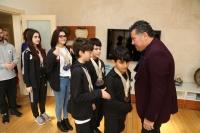 Şampiyon WUSHU'cular Başkan Kocadon'u ziyaret etti