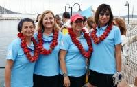 Kadın yelkencilerden barış seyri