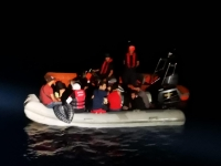 Yalıkavak ve Akyarlar açıklarında 44 göçmen yakalandı