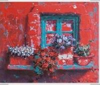 Bodrum'a açılan kapı ve pencereler Mor Sanat'ta