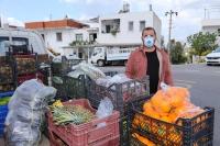 Başkan Aras, Seyyar Pazarcıları devreye soktu