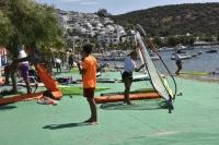 Rüzgar sörfünde 2021 Techno 293 Plus Dünya Şampiyonası heyecanı sürüyor
