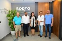 İzmir Yunanistan Başkonsolosi  Papoulia BODTO'yu ziyaret etti