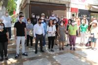 CHP'li kadınlardan  basın açıklaması