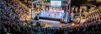 27 Avrupalı genç 18. Uluslararası Bodrum Dans Festivali için Bodrum'da