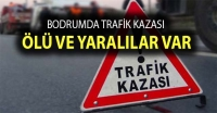 Bodrum'da rafik kazası: 1 ölü, 2 yaralı