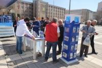 Bodrum tanıtım tırı Eskişehir'de