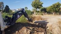 Bodrum'da yol için kapatılmaya çalışılan azmaktaki canlılar can suyuyla kurtarıldı