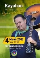 Türk Pop Müziğinin Usta İsmi Kayahan Şarkılarıyla Anılacak