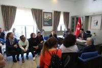 ÖZEL YÜZÜCÜLERİMİZ ŞAMPİYONA ÖNCESİ BAŞKAN'I ZİYARET ETTİ