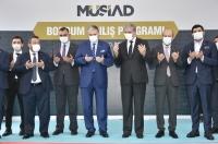 MÜSİAD Genel Başkanı Kaan, Bodrum'da dernek şubesi açılışında konuştu