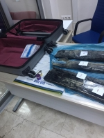 Valizinde 5 kilo 155 gram eroin bulundu