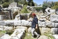 Pedasa Antik Kenti'nde çalışmalar başladı