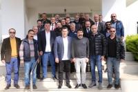 STK temsilcilerinden Başkan  Kocadon'a tam destek