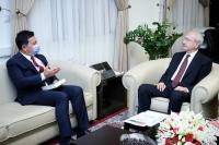 BaşkanAras'ın Ankara temaslıarı devam ediyor
