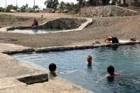Termal tesise Japon turistlerin ilgisi