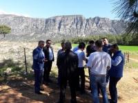Seydikemer Kayadibi Göleti'nin yeri tespit edildi