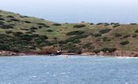 Kardak'ın gözetleneceği  adaya ilk kazma vuruldu