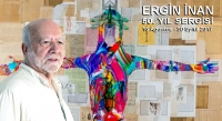 ERGİN İNAN'IN 50. SANAT YILI SERGİSİ 16 AĞUSTOSTA  AÇILACAK