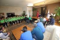 Bodrumspor U14 Takımından Başkan Kocadon'a Ziyaret