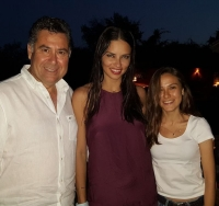 Adriana Lima Bodrum'a hayran kaldı