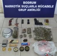 Bodrum ve İzmir'de uyuşturucu operasyonu