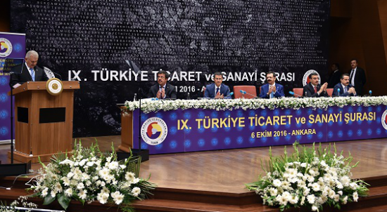 BODTO Başkanı Kocadon 9. Türkiye Ticaret Ve Sanayi Şurası'nda
