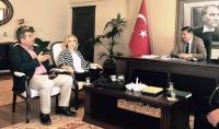 AK Parti MKYK Üyesi Gökcan Bodrum'da temaslarda bulundu
