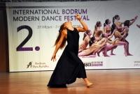 2. Uluslararası Bodrum Modern Dans Festivali'nde 204 dansçı yarıştı