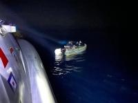 Bodrum açıklarında 6 düzensiz göçmen kurtarıldı