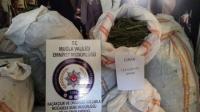 Milas'ta 122 Kilo Esrar Ele Geçirildi