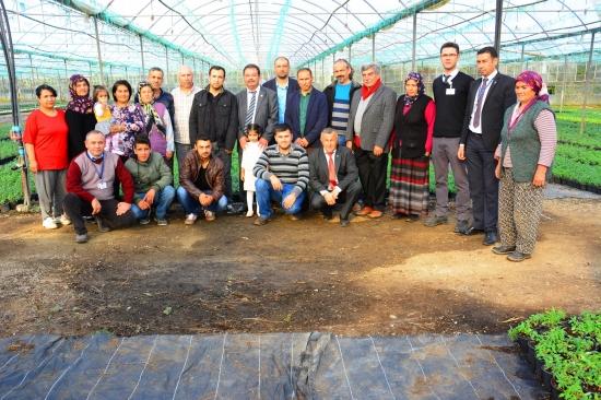 """Muğla'da """"Alım Garantili Çiçek"""" üretiminde 5 milyona yaklaşıldı"""