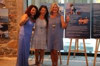 Şule Kükrer'den Barışa Yelken Sergisi açıldı
