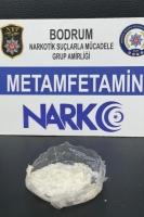 Bodrum'da cerrahi maskeyle gizlenmiş uyuşturucu ele geçirildi