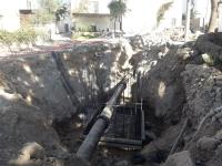Ortakent'in İçme Suyu Hatları Devreye Alınıyor
