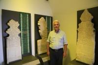 Tarihi mezar taşları  müzede sergileniyor