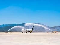 Milas-Bodrum Havalimanı'na Ukrayna'dan gelen uçak