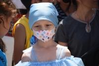 Kanser hastası küçük Elif Esma'ya moral etkinliği