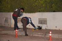 Minibüsle motosiklet çarpıştı: 1 ölü
