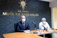 AK Parti Muğla İl Başkanı Kadem Mete'den büyükşehir belediyesine eleştiri