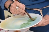 Akademisyenler ve seramik sanatçıları engellilerle buluştu
